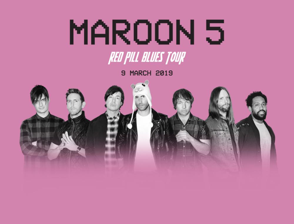 Maroon 5 เปิดฉากเอเชียทัวร์แล้ว !!