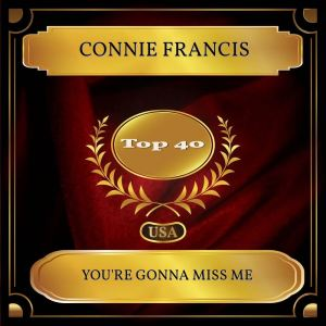Connie Francis的專輯You're Gonna Miss Me