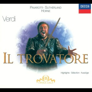 Album Verdi: Il Trovatore - Highlights from The National Philharmonic Orchestra