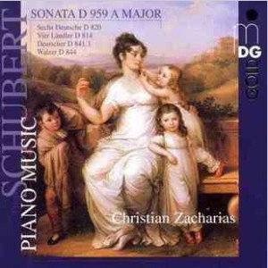 Album Schubert: Piano Music, Sonata D 959 A Major from Christian Zacharias