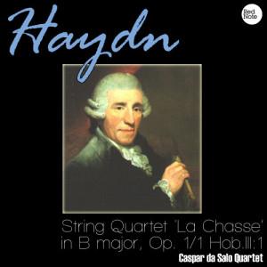 Listen to String Quartet 'La Chasse' in B major, Op. 1/1 Hob.III:1: III. Adagio song with lyrics from Caspar Da Salo Quartet