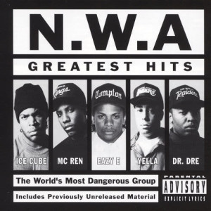 Album Greatest Hits from N.W.A.
