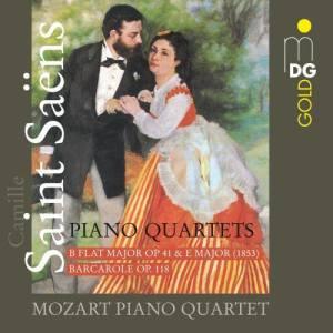 Album Saint-Saëns: Piano Quartets from Mozart Piano Quartet