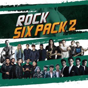 อัลบั้ม ROCK SIX PACK 2