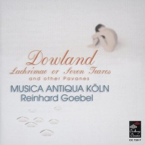 Album Lachrimae or Seven Teares from Musica Antiqua Koln