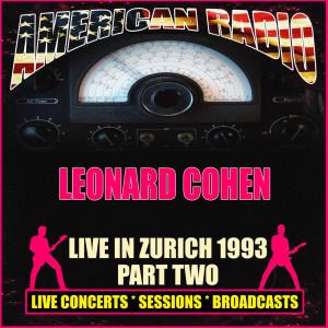 Live in Zurich 1993 - Part Two