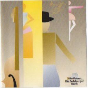 古爾達的專輯Wolfang Amadeus Mozart - Raiffeisen - Kollektion Cd 2