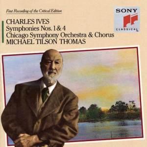 Chicago Symphony Chorus的專輯Ives: Symphonies Nos. 1 & 4