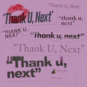 อัลบั้ม thank u, next