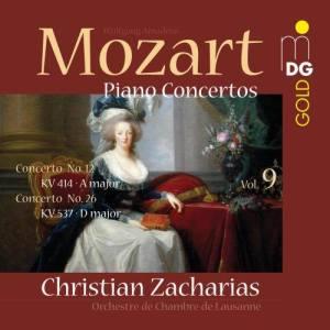 Album Mozart: Piano Concertos Vol. 9 from Christian Zacharias