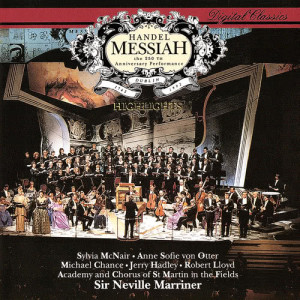Album Handel: Messiah (Highlights) from Michael Chance