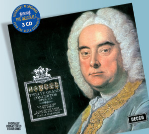 Listen to Handel: Concerto grosso in A, Op.6, No.11 song with lyrics from Trevor Connah