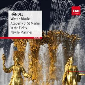 Album Handel: Water Music from Neville Marriner