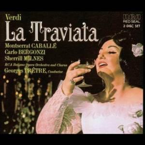 收聽Montserrat Caballé的La Traviata: Act I: E strano, è strano! - Ah fors è lui歌詞歌曲