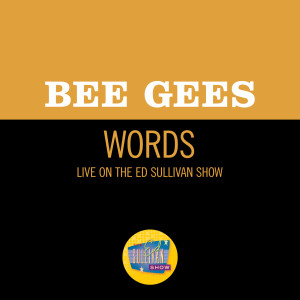 Album Words (Live On The Ed Sullivan Show, March 17, 1968) from Bee Gees