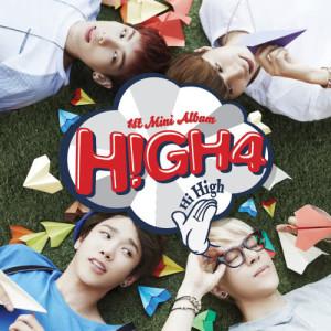 High4的專輯HIGH4 1st Mini Album 'HI HIGH'