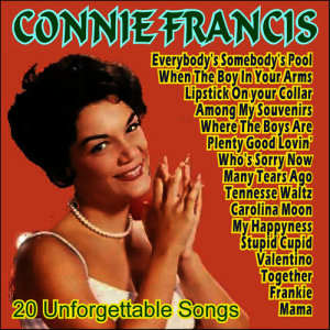 Connie Francis的專輯Connie Francis - 20 Unforgettable Songs