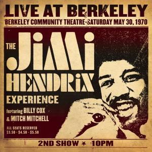 Album Live At Berkeley from The Jimi Hendrix Experience