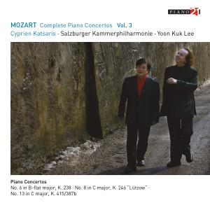 Album Mozart: Complete Piano Concertos, Vol. 3 from Cyprien Katsaris