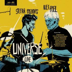 Album Alex Riel & Stefan Pasborg Universe (Live) from Alex Riel