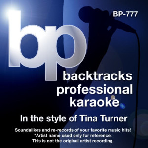 Karaoke - In the Style of Tina Turner