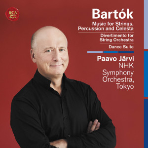 Paavo Järvi的專輯Bartók: Music for Strings, Percussion and Celesta, Divertimento for String Orchestra, Dance Suite