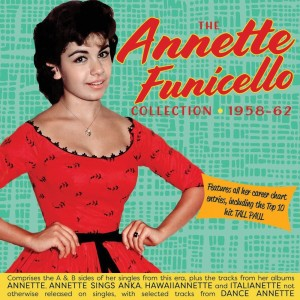 Album The Singles & Albums Collection 1958-62 from Annette Funicello