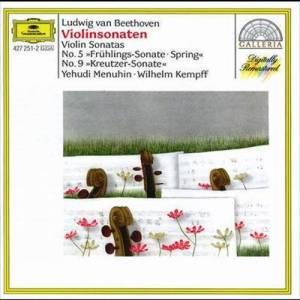 "Wilhelm Kempff的專輯Beethoven: Violin Sonatas Nos.5 ""Spring"" & 9 ""Kreutzer"""