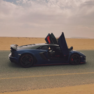 Синий Lamborghini (remix by Dan Korshunov) dari Rakhim