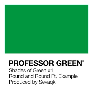 Album Round and Round from Professor Green