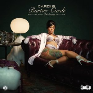 Listen to Bartier Cardi (feat. 21 Savage) (Explicit) song with lyrics from Cardi B