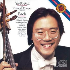 馬友友的專輯巴哈:為大鍵琴與大提琴所寫的奏鳴曲
