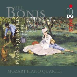 Album Bonis: Piano Quartets from Mozart Piano Quartet