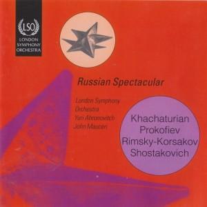 Album Russian Spectacular from Yuri Ahronovitch