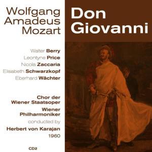 Album Wolfgang Amadeus Mozart: Don Giovanni (1960), Volume 2 from Nicola Zaccaria