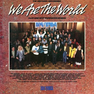 Album We Are The World from U.S.A. For Africa