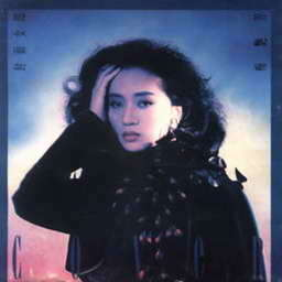 梅艷芳的專輯封面女郎