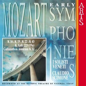 I Solisti Veneti的專輯W.A. Mozart: Early Symphonies - Vol. 1
