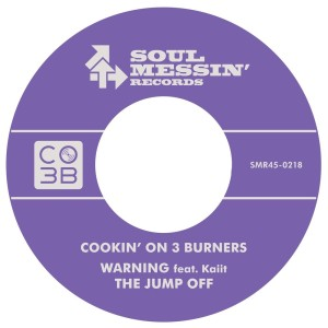 Album Warning from Cookin' On 3 Burners