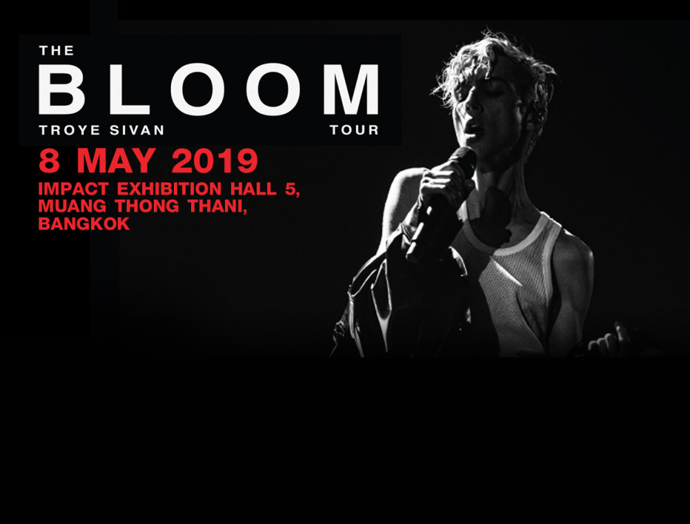 เตรียมตัวให้พร้อมกับคอนเสิร์ต Troye Sivan ครั้งแรกในไทย