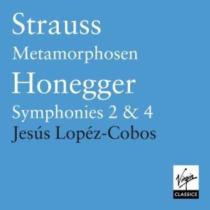 Jesse Lopez Cobos的專輯Honegger : Symphonies, etc