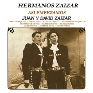 Album Así Empezamos, Juan y David Zaizar from Hermanos Zaizar