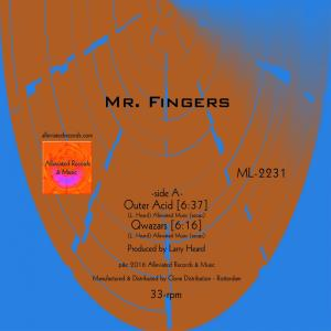 Album Outer Acid EP from Mr. Fingers