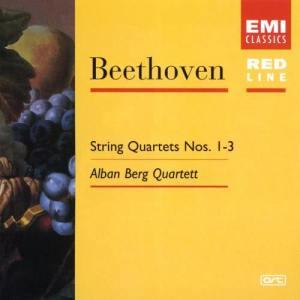 Beethoven: String Quartets 1,2 & 3 Op.18 2005 Alban Berg Quartet