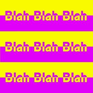 Album Stripey from Blah Blah Blah
