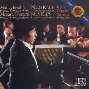Murray Perahia的專輯Mozart:  Concertos No. 25 & 5 for Piano and Orchestra