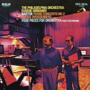 Alexis Weissenberg的專輯Bartók:  Piano Concerto No.2 & Four Pieces for Orchestra, Op. 12