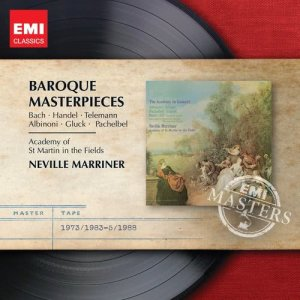 Album Baroque Favourites [The National Gallery Collection] (The National Gallery Collection) from Neville Marriner