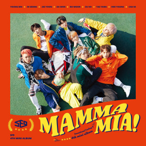 SF9 4th Mini Album [ MAMMA MIA! ] 2018 SF9