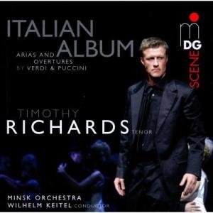 Tim Richards的專輯Italian Album: Arias and Overtures by Giuseppe Verdi and Giacomo Puccini